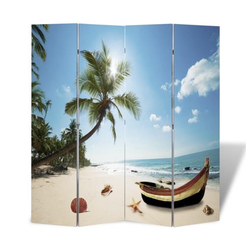 Zdjęcie ekranem dzielniki ekranu Pokoju plaża 160 x 180 cm