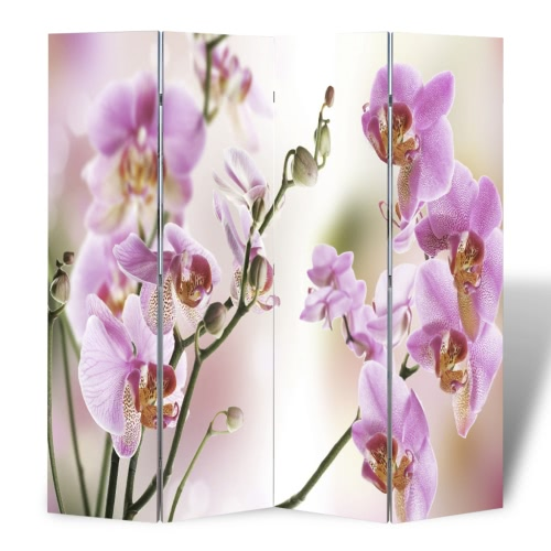 Foto Paravent habitación divisor de Flores 160 x 180 cm