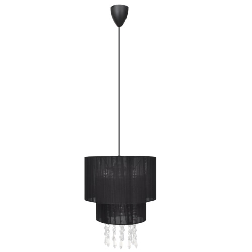 Żyrandol wisiorek lampa Light Black