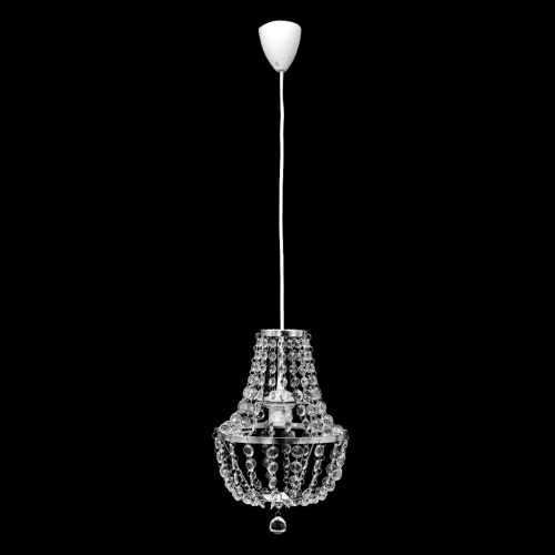 Pendant Ceiling Lamp Chandelier Crystal Design Chrome