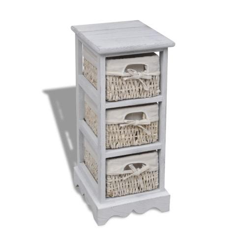 Dresser шкаф корзины полки корзины Грудь 3 корзины