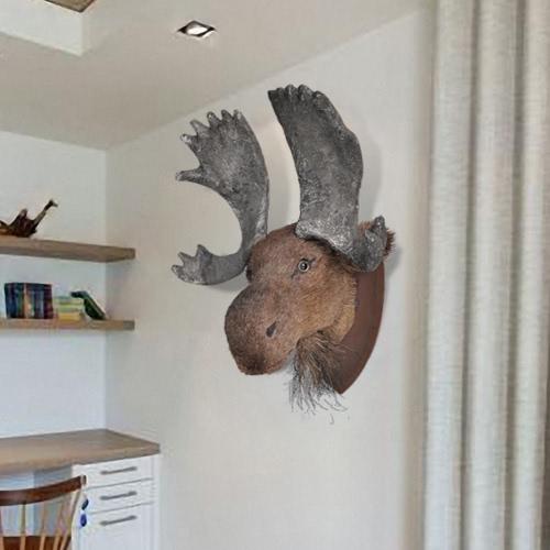 Moose głowy dekoracji ściany Oczywiście