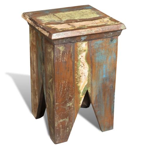 Teak antyczne krzesło Stolec Wieszak vintage