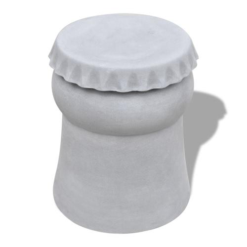 Couchtisch Betonmöbel Betontisch Hocker Bierflasche