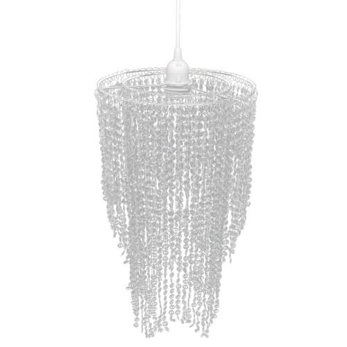 colgante de cristal Kronlampe 26,5 x 50 cm