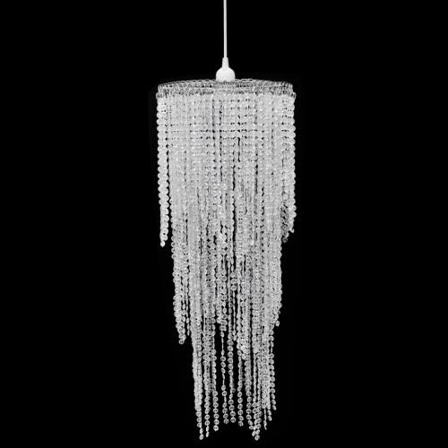 Crystal Pendant Chandelier 26 x 70 cm