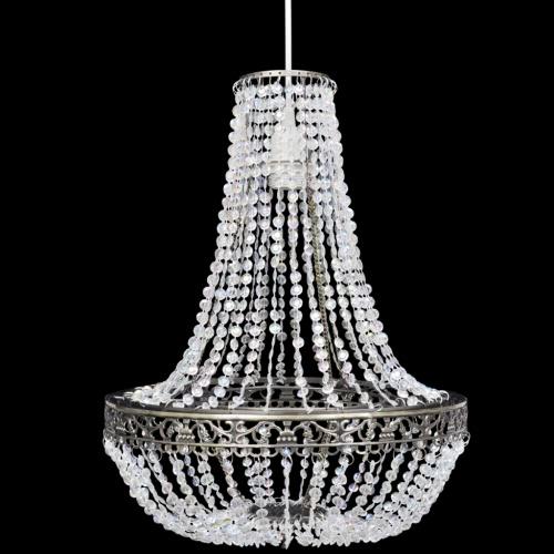 Crystal Pendant Chandelier 36,5 x 46 cm