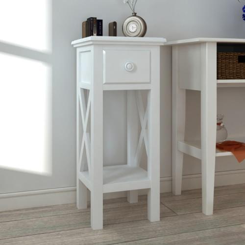 Stół telefon z białym szuflady