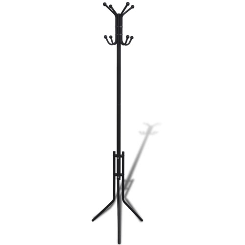 Metal Black Coat Stand