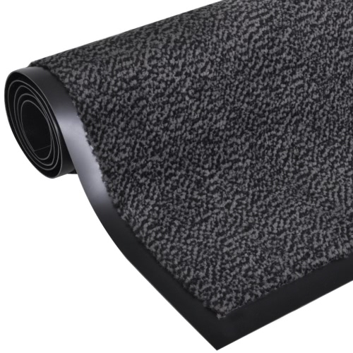 Dust Control Mat Rectangular 120 x 90 cm Anthracite