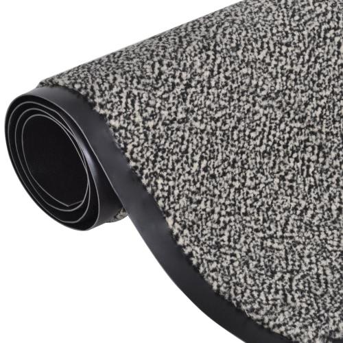 Fußmatte Fußabtreter rutschfest 90 x 60 cm beige
