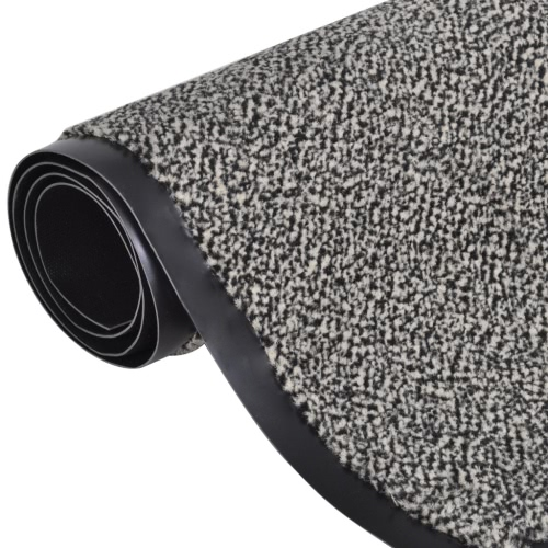 Fußmatte Fußabtreter rutschfest 150 x 90 cm beige