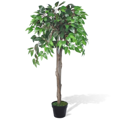 Artificial Plant Ficus Tree with Pot 110 cm