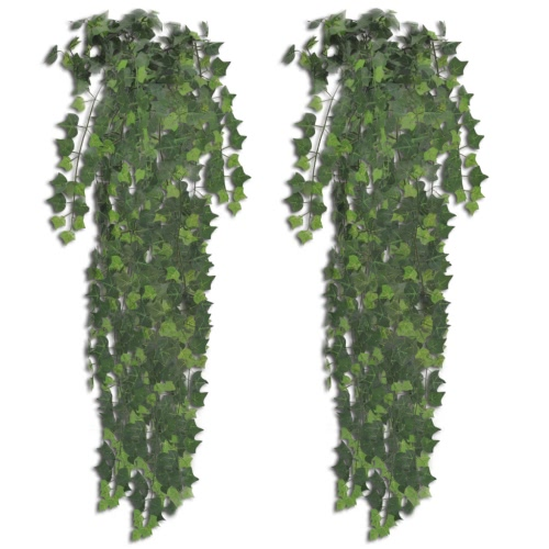 2 pcs Green Artificial Ivy Bush 90 cm