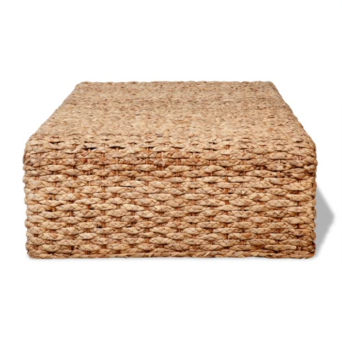 Hand Woven Coffee Table Water Hyacinth