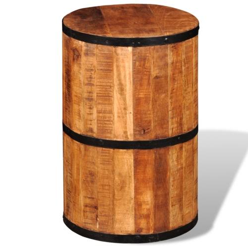 madera de mango Schemel graneado