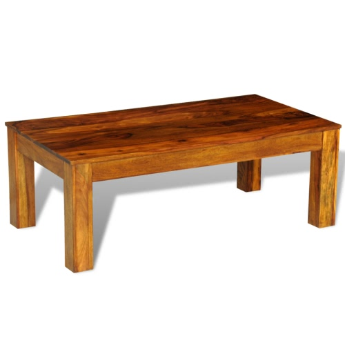 Table basse Sheesham-Bois 110 x 60 x 40 cm