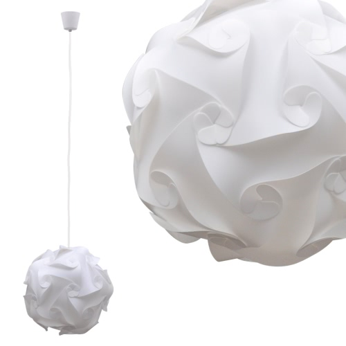 Round Decorative Pendant Lamp Modular White