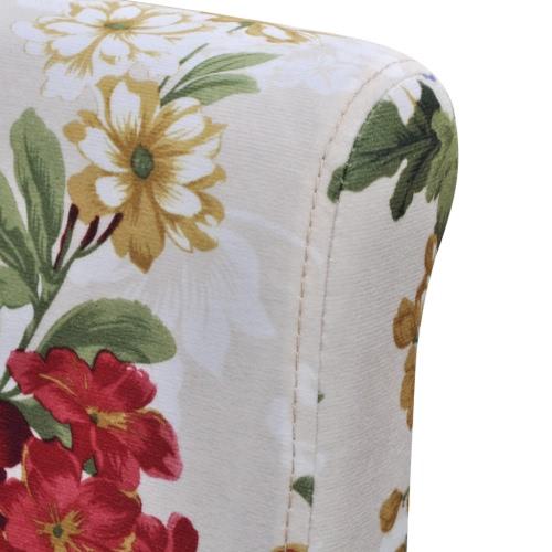 . Legno Floral Design  Sedie da pranzo 4 pezzi
