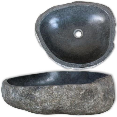 basin river stone oval 30 cm