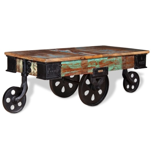 Журнальный столик из дерева 90 х 45 х 35 см