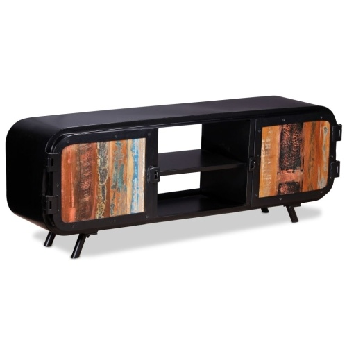 TOMTOP / TV cabinet old wood 120 x 30 x 45 cm