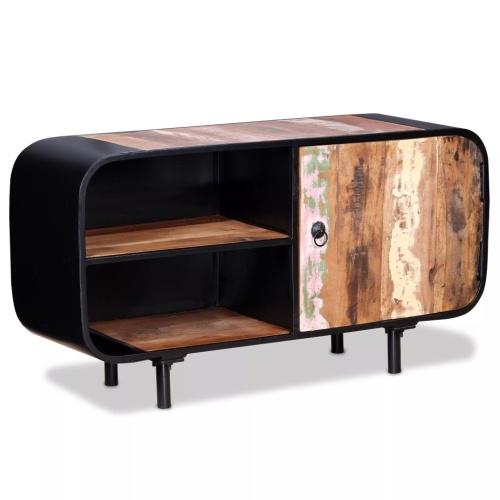 Шкаф для телевизора старая древесина 90 x 30 x 48 см