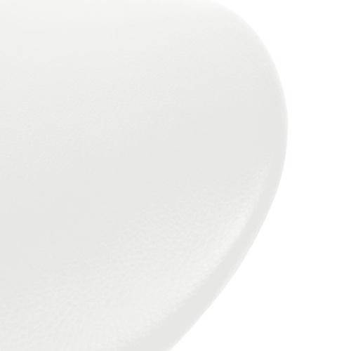 Поворотный барный шкаф Faux Leather White