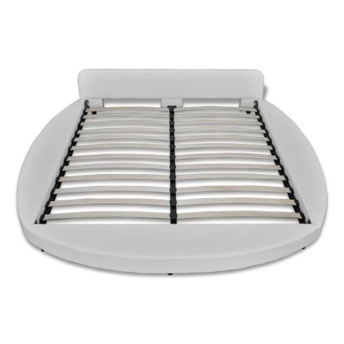 Рама для кроватей 180 x 200 см Круглая искусственная кожа