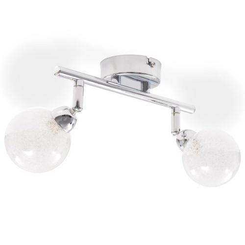 Потолочный светильник 2-факельный G9 хром
