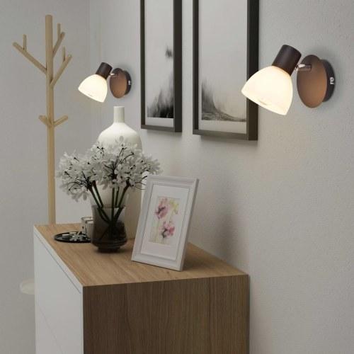 Настенные светильники 2 шт. E14 Черный