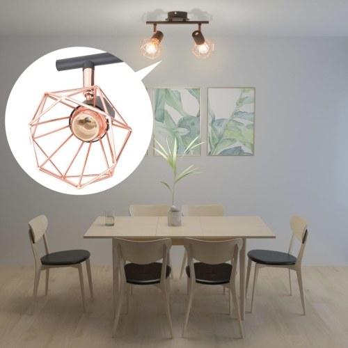 Потолочная лампа с 2 светодиодными лампами 8 Вт