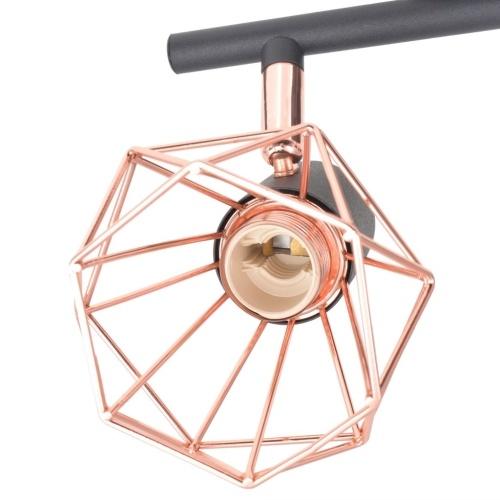 Потолочная лампа с 4 светодиодными лампами 16 Вт