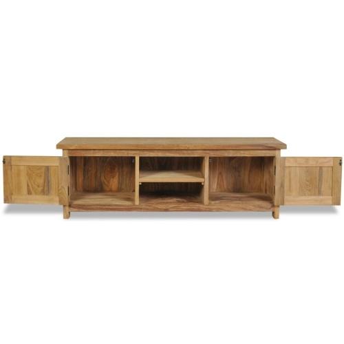 TV cabinet solid wood teak 120 × 30 × 40 cm