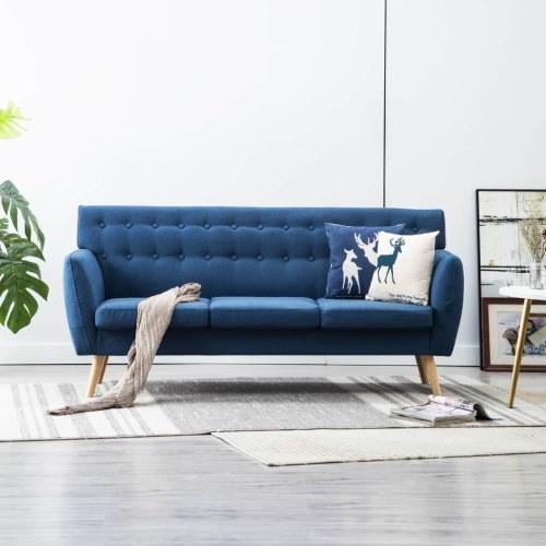 172x70x82см Домашний удобный 3-местный диван
