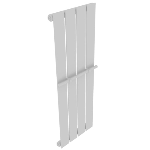 Heating Panel Towel Rack 311mm + Heating Panel White 311mm x 900mm