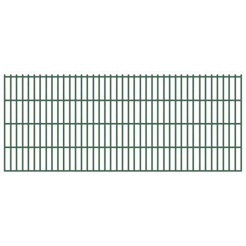 5x 2D Zaunpaneel железной проволоки забор 6/5/6 мм 83 см 10 м
