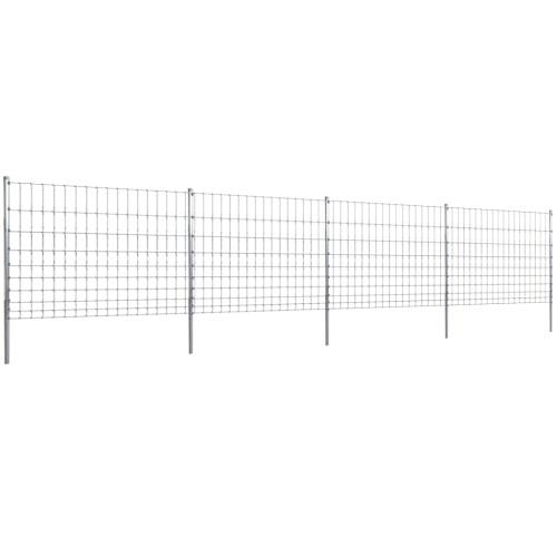 50m сад забор Wildzaun оцинкованный столб 120/10/15