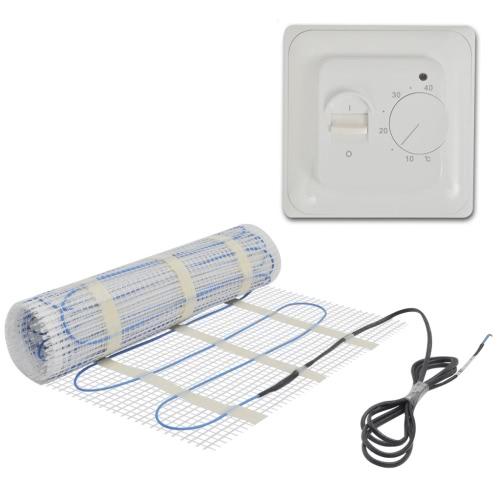 estera de calefacción por suelo radiante Twin 2 m² 160 W / m² + termostato