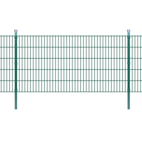 double rod matt fence garden fence & post 2008x1030 mm 40m green