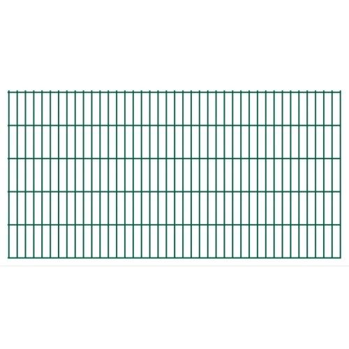 double rod matt fence garden fence & post 2008x1030 mm 50m green