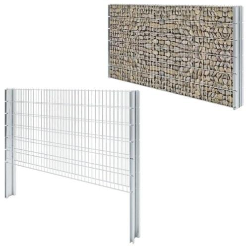 double pole fence gabion fence 2008 x 1230 mm 12 m galvanized