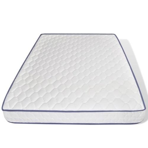 Двуспальная кровать с матрасом для пены памяти 140 x 200 см Черный