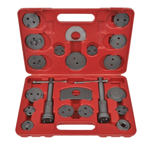 Brake Caliper Piston Wind Back Tool Kit 21 pcs