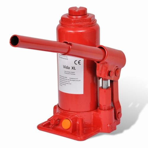 210257 Bouteille hydraulique Ascenseur Jack 5 Ton Rouge Automobile