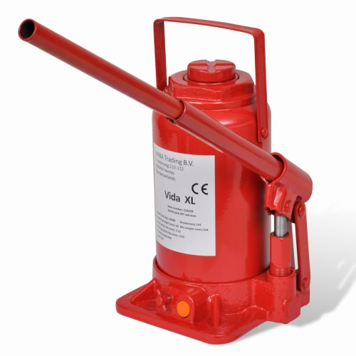 210259 Bouteille hydraulique Jack 20 Ton Red Car Lift Automotive