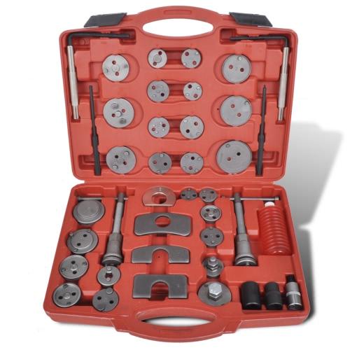 Brake Caliper Piston Wind Back Tool Kit 40 pcs