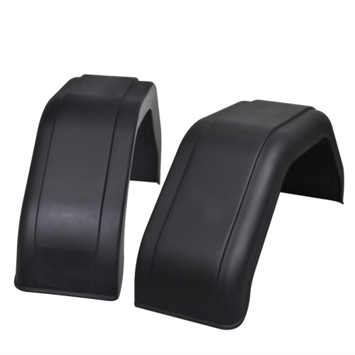 2x Mudguard for Trailer Wheels 200 x 680 mm