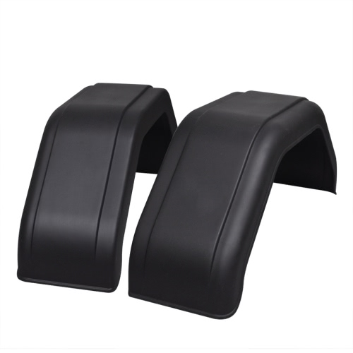 2x Mudguard for Trailer Wheels 220 x 760 mm