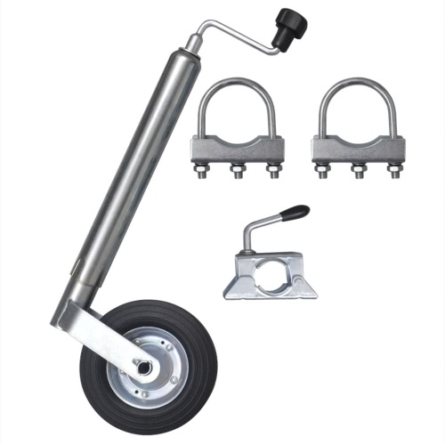 48 mm Jockey Wheel with 1 Split Clamp & 2 U-brackets